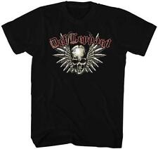 SKULL N WINGS Def Leppard English Rock Band Heavy Metal Hard Rock Adult T-Shirt