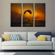 Parachute Landscape Canvas Print Painting Poster Wall Art Home Decor Framed Art