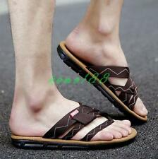 Summer Mens thongs flip flop beach sandals flat slipper comfy shoes