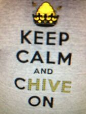 the Chive *Authentic* Keep Calm and Chive On Utah Chive Nation mens t XL 3XL