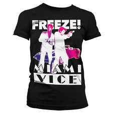 Officially Licensed Miami Vice- Freeze Women T-Shirt S-XXL Sizes