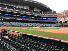 2 Tickets Astros Vs TX Rangers FIELD BOX SECTION 127 ROW 7 AISLE SEATS! 8/30/17
