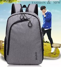 Men Women Canvas Student Backpack Everyday Bag School Backpacks Travelling Bags