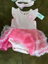 THE CHILDRENS PLACE 2 Piece Dress & Headband 3-6 or 6-9 months Retail for $29.95