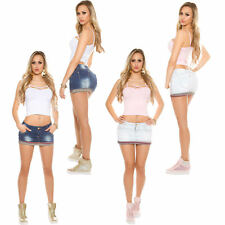 Mini Denim skirt Jeans Mini Skirt 5 Pocket Denim Stretch Party Club 34 36 sexy