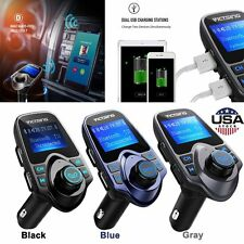 Bluetooth Wireless FM Transmitter Car MP3 Stereo Radio Adapter USB Charger Kit