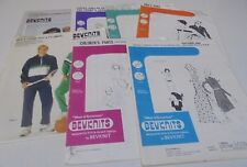 BEVKNITS SEWING PATTERNS- ASSORTED-CHOOSE A PATTERN MULTISIZES UNCUT Bev knits