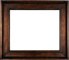 "4.75"" WIDE Fancy Black With Gold Liner Oil Painting Wood Picture Frame 20MG"