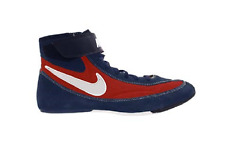 Nike Youth Wrestling Shoe - Speedsweep 7 - Navy/Red/White