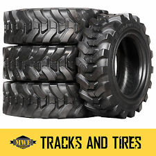 10-16.5 (10x16.5) Camso SKS 732 10-Ply Skid Steer Tires: Pick Your Rim Color