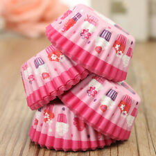 100Pc Wedding Paper Cupcake Cases Wrapper Liner Baking Muffin Home Kitchen Party