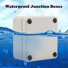 Waterproof Plastic Enclosure Project Instrument Outdoor Junction Box Housing