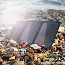21W Portable Folding Solar Panel Charging Bag For Mobile Laptop Computer Camera