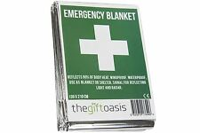 Emergency Foil Thermal Blanket Survival Baby Sensory First Aid Camping