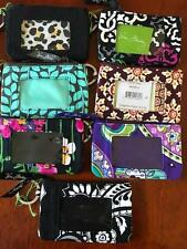 VERA BRADLEY ZIP ID COIN CASE with KEY RING NWT 7 PATTERNS AVAILABLE