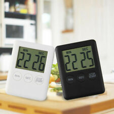 Magnetic LCD Digital Kitchen Cooking Timer Count-Down Up Clock Alarm US Location
