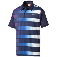 Puma Golf GT Fade Stripe Polo Shirt Dry Cell Tech Men's