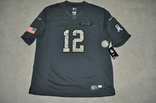 Nike Indianapolis Colts Andrew Luck  # 12 Mens Salute To Service Jersey NWT 🇺🇸