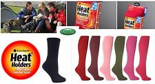 6 Pairs Ladies GENUINE Thermal Winter Warm Heat Holders Socks size 4-8 uk