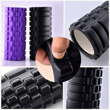 Woman's Hollow Trigger Point Foam Roller Muscle Tissue Massage Fitness Gym Yoga