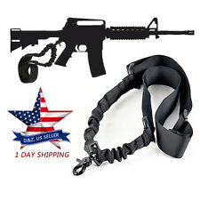 For AR-15 .223 .556 Nylon Rifle Single One 1 Point Tactical Adjustable Gun Sling