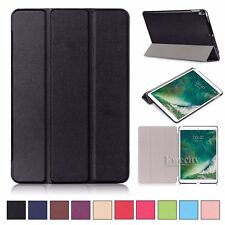 Folio Slim Leather Tri-Fold Stand Smart Auto Sleep Case Cover For Apple iPad