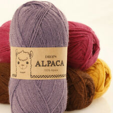 DROPS 100% Super Fine Alpaca wool 4ply Luxury Knitting Yarn 50g