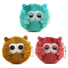 Kawaii Owl Women Plush Coin Purse Mini Portable Handbag Women Wallet Pouch Bag