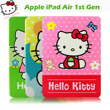 Hello Kitty Stand Case for iPad Air 1st G Flip Leather Case Smart Cover iPad Air