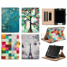 New Folio Pattern Leather Stand Smart Auto Sleep Pouch Case Cover For Apple iPad