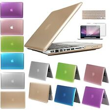 Rubberized Frost PC Case Shell For Apple Macbook Pro 13 Air 11 Pro 15 Retina 12