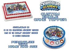 SKYLANDERS  Personalized Edible Image Sheets Cake Toppers