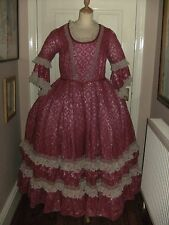 LADIES GEORGIAN STYLE THEATRICAL COSTUME BY HOMBURGS THEATRE DRESS PANTOMIME
