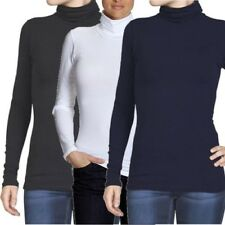 6703 Only Live Love LS Rollneck Ladies Long Sleeve Shirt Black White Grey