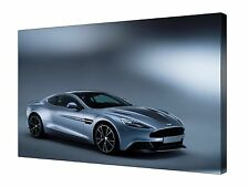 Aston Martin Vanquish Super Car ~ Canvas Wall Art Picture Print Framed + Sizes
