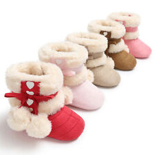 Toddler Girl Crib Shoes Newborn Baby Bowknot Soft Sole Prewalker Cotton Sneakers