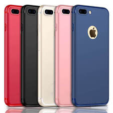 Luxury Ultra Thin Slim Silicone TPU Soft Case Cover For Apple iPhone 8 6S 7 Plus