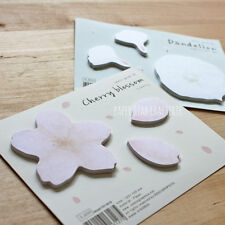STICKY NOTES Post It Notes Cherry Blossom Dandelion Stationery Memo Pads