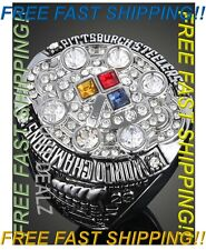 2008 Pittsburgh Steelers Rothlisberger Super Bowl Championship Ring Size 9 - 12