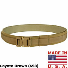 Condor Cobra Gun Belt COYOTE BROWN Open Carry Holster MOLLE Pouches Duty Gear