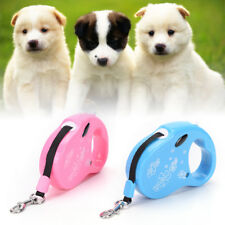 Dog Lead Retractable Dog Leash Pet Traction Rope Chain Harness Dog Collar 10ft