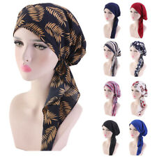 Women Lady Head Scarf Turban New Style Headwear Chemo Hat Tichel Cancer Hijab