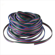 4-PIN 22AWG RGB Extension Wire Cable Cord for 3528 5050 RGB LED Strip