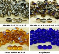 50pcs Crystal Clear Large Pinch Bicone Faceted Czech Glass Beads Spacer 7mm
