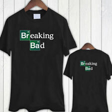 new rare Breaking Bad Logo Black T-Shirt Size M-5XL