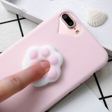1PCS Squishy Silicone Cute Soft Cat's Paw Phone Case Cover For iPhone 6s/7 Plus