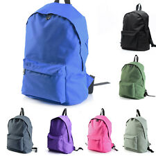 Canvas Mens Womens Casual Backpack Book Bags Kids School College Bags Travel