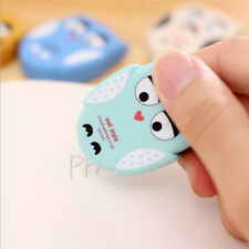 Students Cartoon Owl Shape Eraser Rubber Stationery Kid Gift Toy Cute