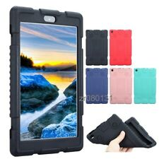 Soft Silicone Case Cover For 8 inch Amazon Kindle New Fire HD 8 2017+Film