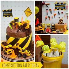 CONSTRUCTION PARTY SUPPLIES-BOYS PARTY SUPPLIES-KIDS PARTY SUPPLIES-EVERYTHING!!